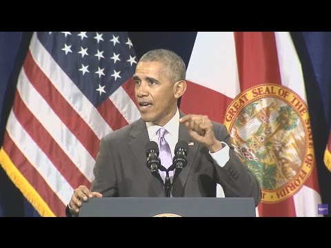 Barack Obama Speaks About Affordable Care Act in Florida