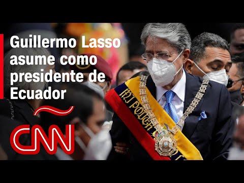 Guillermo Lasso toma posesión como presidente de Ecuador: las claves de su primer mensaje