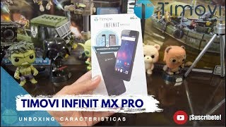 TIMOVI INFINIT MX PRO: Caracteristicas y Especificaciones