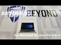 BtR - Brydge 12.3 Keyboard Unboxing and Review for the Microsoft Surface Pro 3 and 4