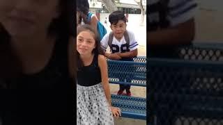 14 6th graders kissing