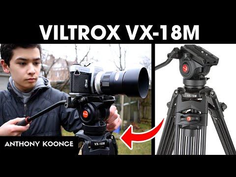 Best Video Tripod Under $150? Viltrox VX-18M Unboxing & Review