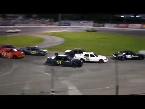 Sportsdrome Speedway HE'S BACK  Raymond Win's Ford F8