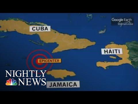 Powerful Earthquake Strikes The Caribbean   NBC Nightly News