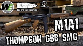 WE-Tech Auto Ordnance M1A1 GBB Thompson