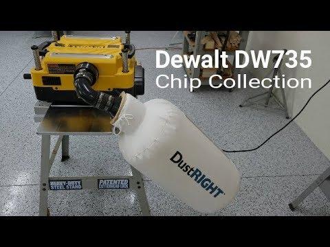 Dewalt Planer DW735 - Dust Collection