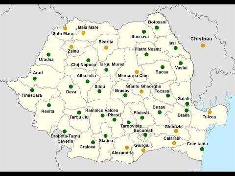 30 Cele Mai Populate Orase Ale Romaniei Youtube