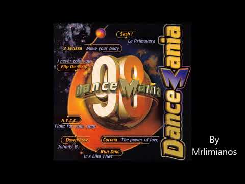 Dance Mania 98 Megamix 1998 By Vidisco PT