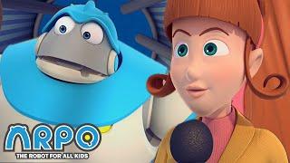Arpo the Robot | Washing Machine UFO | FULL EPISODE | Funny Cartoons for Kids | Arpo and Daniel