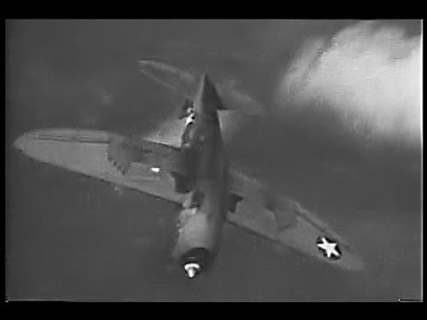 P-47 Thunderbolt Aerobatics & High Altitude Flight - 1943 Restored