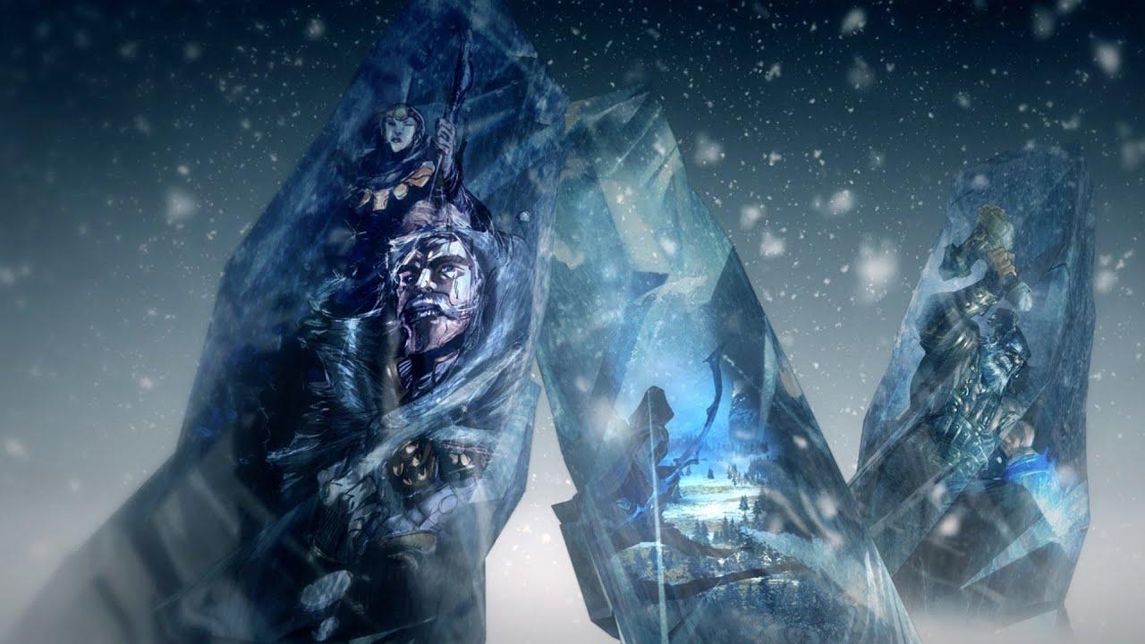 Entra nel Freljord - Esplora il Freljord per scoprire la storia delle tre tribù che si contendono il controllo di questa landa ghiacciata e infida.