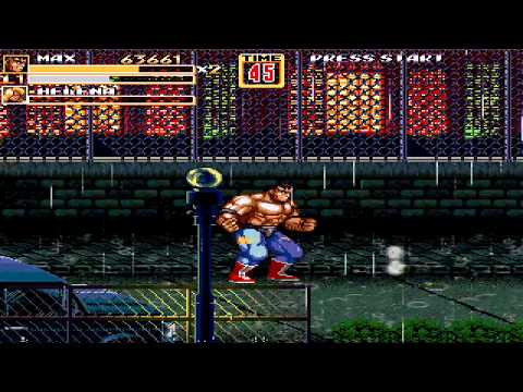 OpenBoR games: Streets of Rage Z 2 playthrough - part 1