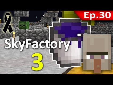 🏭 Minecraft: Sky Factory 3 - เล่นกับ Witch Water (น้ำแม่มด) #30