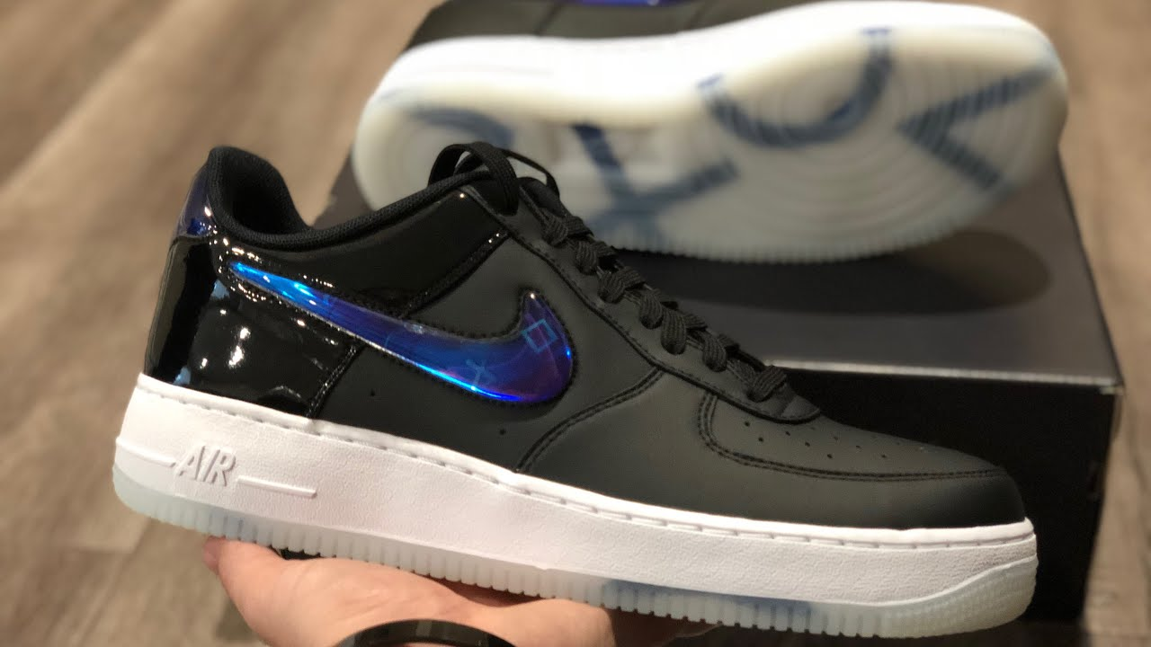 Playstation Nike Air Force 1 Unboxing & Review (E3 2018 Exclusive)