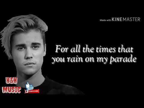 Justin Bieber - Love Yourself Lyrics