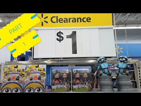 WAL-MART 1.00 CLEARANCE TOYS ~YMMV~