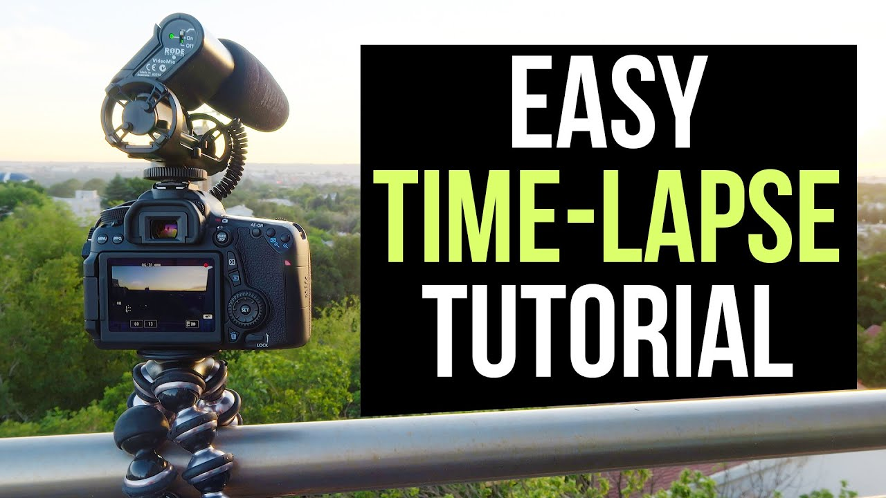 Make a Time Lapse Video from Photos in a Few