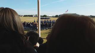 Parade day USAF Lackland - 324 Training Squadron Levitow Flight
