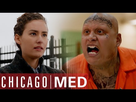 You're Scared Of Him But He's Terrified Of You | Chicago Med