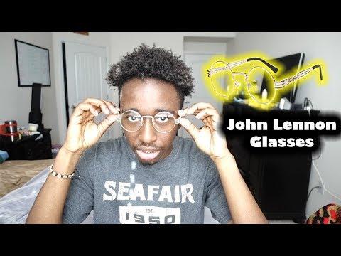 John Lennon Glasses Review Dollger Round Glasses Youtube