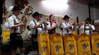 """Ramseer Musikanten.""""Das Sternchen"""" Tennenfest in Hurlach.20.10.2013"""