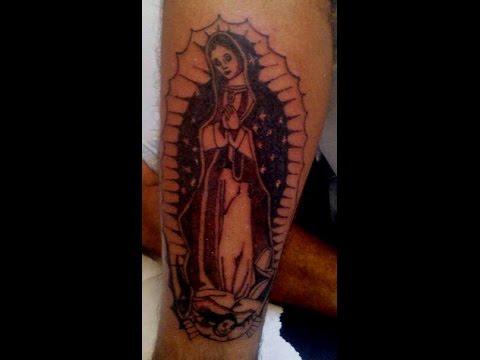 Tatuaje Virgen De Guadalupe Youtube