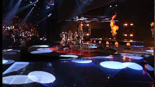 Ruslana - Wild Dances (Ukraine) - LIVE - 2004 Eurovision Song Contest(Ruslana represented Ukraine at the 2004 Eurovision Song Contest with the song 'Wild Dances'. She won, and brought the contest to Kiev the year after., 2011-10-19T14:50:36.000Z)