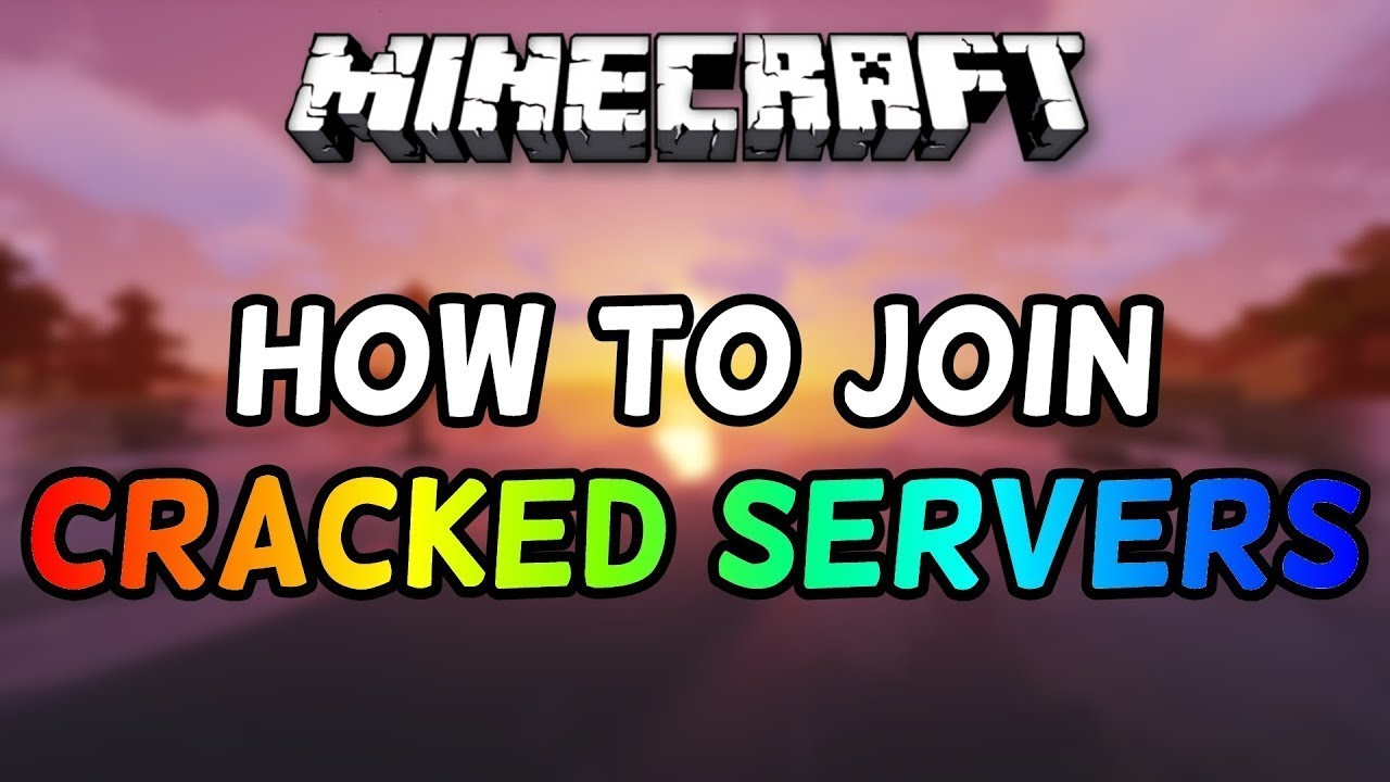 How to join Cracked Minecraft Servers on TLauncher! - YouTube