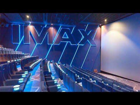 Giant IMAX screen _ PVR cinemas Logix Mall Noida