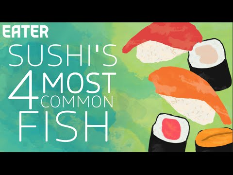 The 4 Fish Most Sushi Chefs Use