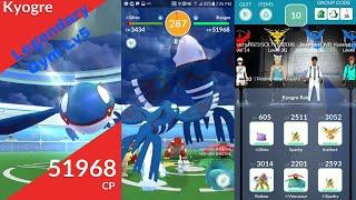 Pokemon Go Kyogre Raid!