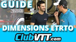 Guide pneu vtt : Les dimensions ETRTO, c'est quoi ? - 408