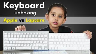 Lapcare Usb keyboard unboxing and Mac/Apple keyboard  | Apple/mac vs Usb Keyboard # Hindi