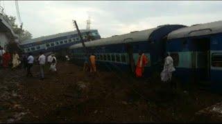 В Индии разбился пассажирский экспресс