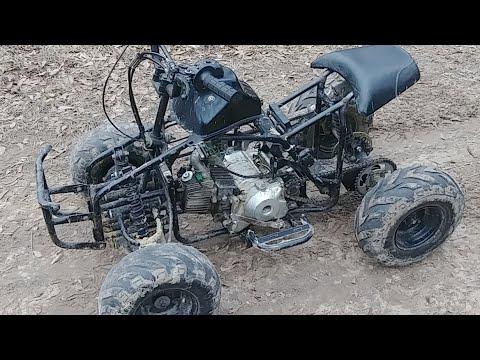 110cc Mini Quad Semi Auto Homemade Youtube
