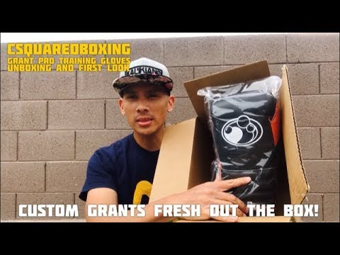 Grant Boxing Custom Lace-Up Training Gloves- UNBOXING AND FIRST LOOK!