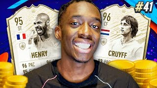 15 MILLION COINS SPENT! PRIME MOMENTS CRUYFF & HENRY!!! #41 MMT (WEEKEND LEAGUE GAMEPLAY)