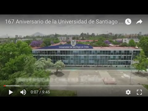Video institucional Universidad de Santiago de Chile