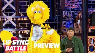 "Big Bird Performs ""I Gotta Feeling"" w/ Elmo & Cookie Monster 🍪 Lip Sync Battle Preview"