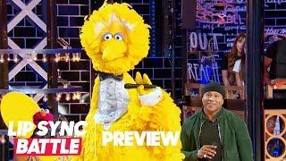 "Big Bird Performs ""I Gotta Feeling"" w/ Elmo & Cookie Monster 🍪 Lip Sync Battle Preview"