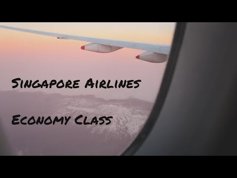 Singapore Airlines Economy Class - Royal at Queens Hotel in Singapore [ South East Asia Vlog #2 ]