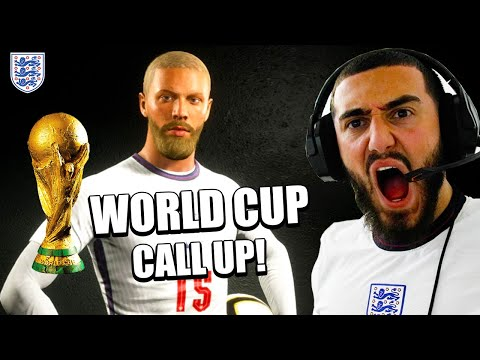 ANGZO IS PLAYING IN THE WORLD CUP FOR ENGLAND!🔥-  FIFA 21 CAREER MODE #22  