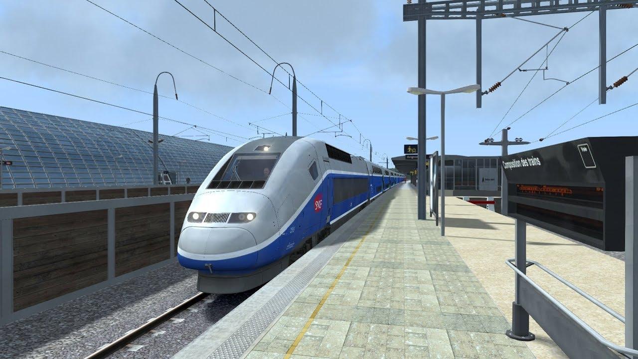 train simulator 2018 marseille to avignon tgv avignon marseille saint charles tgv duplex hd. Black Bedroom Furniture Sets. Home Design Ideas