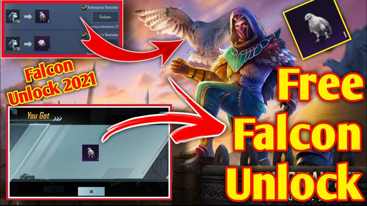 Download How To Get Free Falcon || Pubg Falcon Unlock Free || How To Get Falcon In Battlegrounds Mobile India
