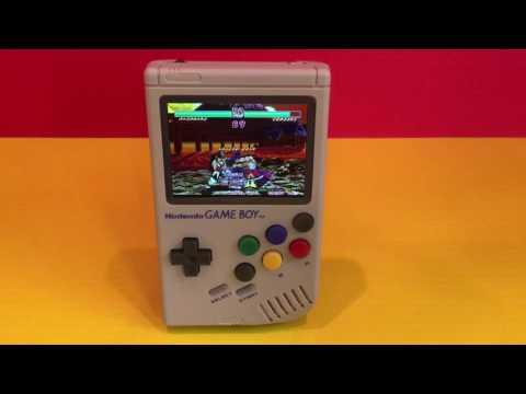 Raspberry Pi3 Gameboy NeoGeo