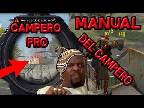 EL MANUAL DEL CAMPERO #1 SERAS EL MAS PRO CAMPEANDO DE FREE FIRE!!!!!!!