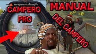 КЕРІВНИЦТВО CAMPERO #1 БУДЕШ АЛЕ ПРО CAMPEANDO FREE FIRE!!!!!!!