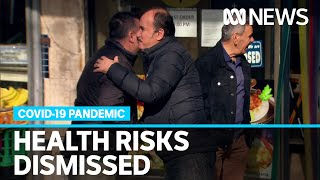 Mass COVID-19 testing blitz underway in Melbourne, but some dismiss health risks