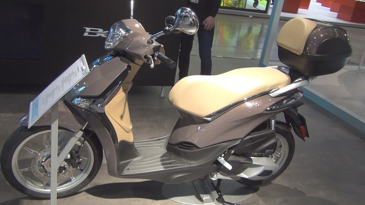 piaggio new liberty 125 (2017) exterior and interior in 3d - youtube