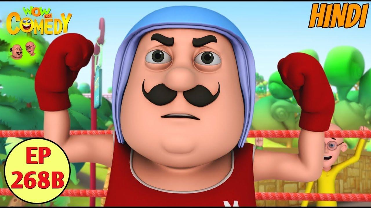 Download Motu Patlu | Cartoon in Hindi | 3D Animated Cartoon Series for Kids | Jhatka Power Download Gadget